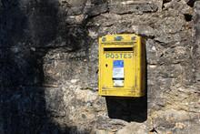 French Postes Yellow Metal Pos...