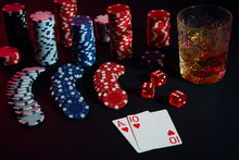 Cards Of Poker Player. On The ...