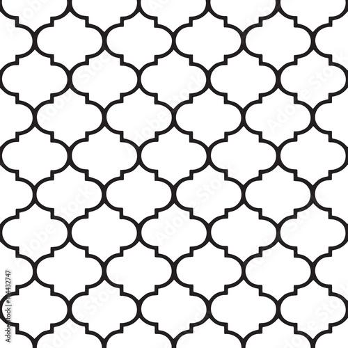 Moroccan vector pattern. Hamptons style.