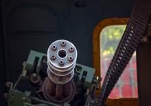 Old Machine Gun Death In The D...