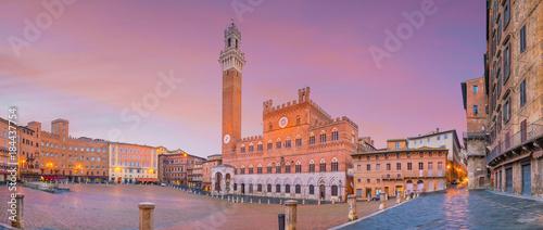 Fotografie, Obraz Piazza del Campo in Siena, Italy