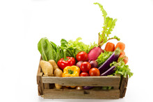 Assortment Of Fresh Vegetables...
