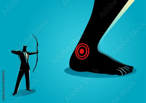Achilles' Heel Canvas Print