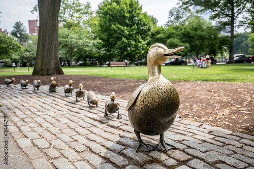 Make Way for Ducklings, Boston Public Garden