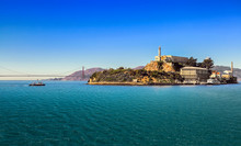 San Francisco Bay With Alcatra...