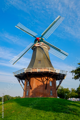 Foto  Windmühle von Greetsiel