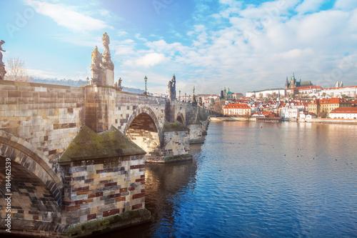 Murais de parede Charles bridge in Prague