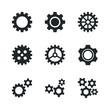 Gear Cog Wheel Vector Set