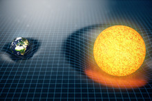 3D Illustration Earth's And Su...