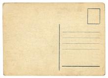 Vintage Postcard - Isolated (c...