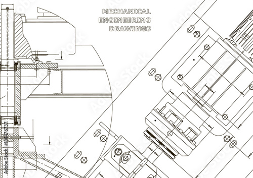 Mechanical engineering drawings. Technical Design. Instrument making ...