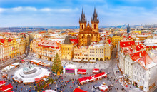 Prague. Panoramic Aerial View ...