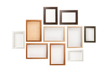 Many Photo Frames Isolated On ...