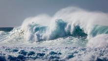 Powerful Wave Breaking Near Sh...