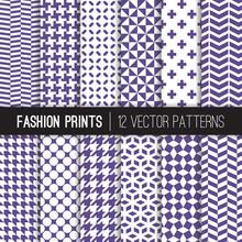 Ultra Violet Fashion Textile V...