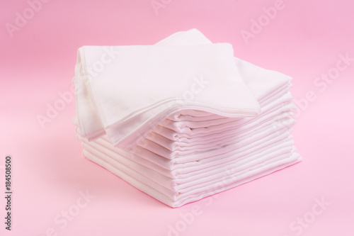 Fotografie, Obraz  baby cloth diapers