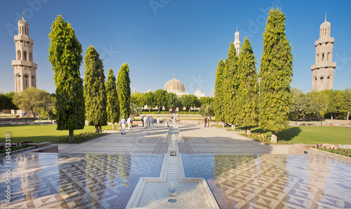 Sultan Qaboos Grand Mosque Muscat Oman