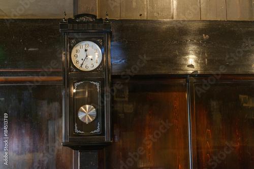 Fotografie, Obraz  レトロな壁掛け時計
