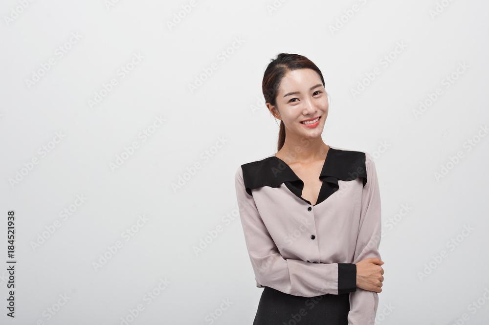 Fototapeta beautyful korean business woman