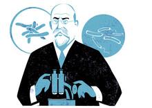 Robert Koch Vector Illustration