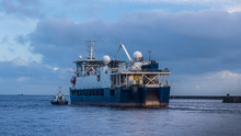 Research Survey Vessel With Pi...