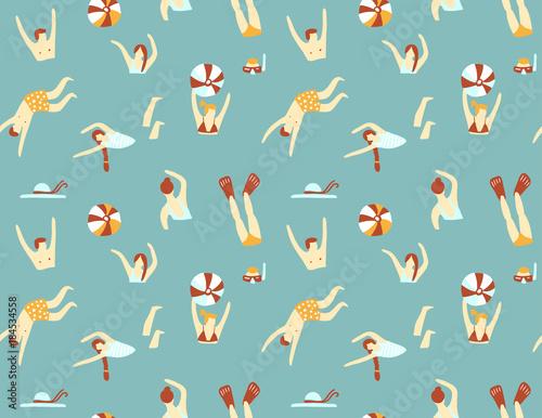 Fotografía Summer seamless pattern