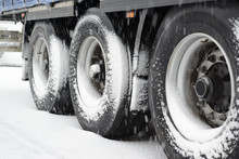 Truck In The Snow