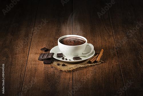 Hot chocolate Fototapete