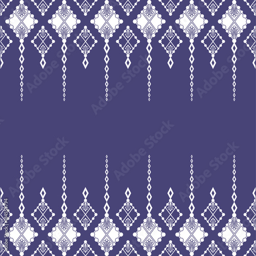 Foto auf AluDibond Boho-Stil geometric abstract patern vector