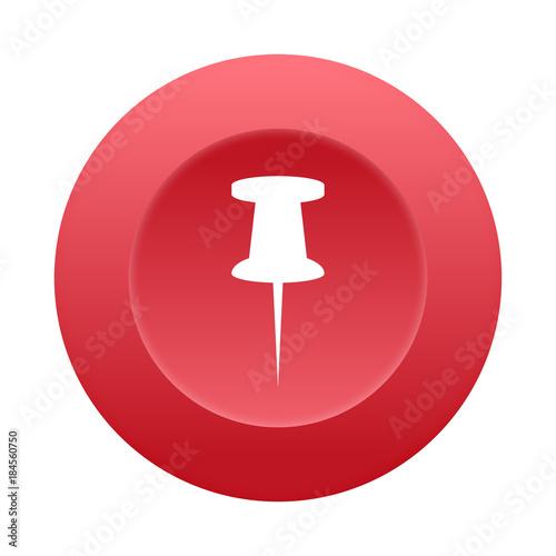 Fotografía  Runder 3D Button - Stecknadel