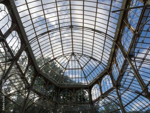 Aluminium Prints Train Station Palacio de cristal