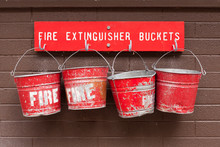 Fire Extinguisher Buckets