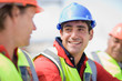 Portrait of a building worker