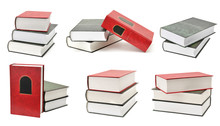 Set Of Books With Different Ca...
