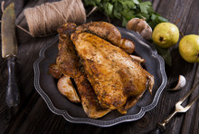 Roasted Guinea Fowl