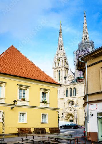 Fotografie, Obraz  Zagreb city center