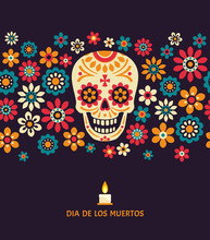 Dia De Los Muertos. Day Of The...