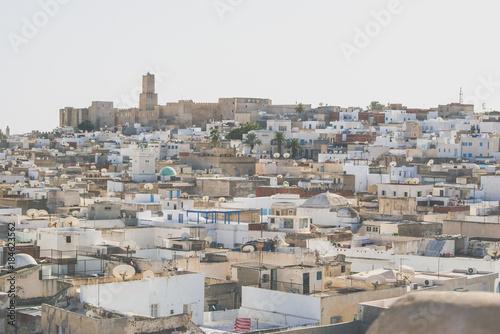 Fotografija  The old city. City slums. Tunisia. Sousse.