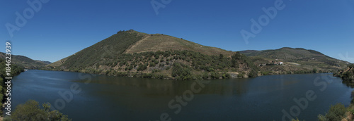 panorama view of the douro river, portugal #184623939