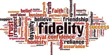 Fidelity Word Cloud Concept