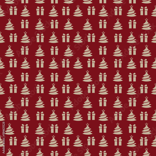 abstract seamless new year pattern for girls boys clothes creative vector new year background