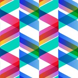 Tendy illustration backgrounds, seamless pattern with abstract shapes, geometric style. Retro art for covers, banners, flyers and posters.