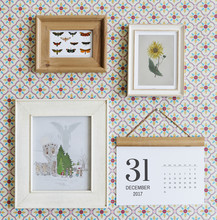 Wall Frames And Calendar