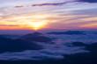 富士山六合目からの日の出