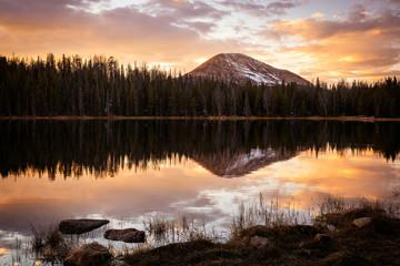 Uinta mountain landscapes, Utah, USA.