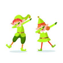 Elf Dab Character