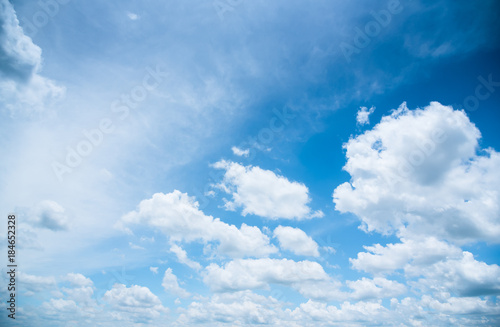Canvas Prints Heaven The vast blue sky and clouds sky. blue sky background