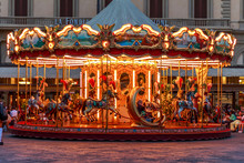 Antique Carousel Of The Picci ...