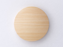 Circle Wood Abstract Background 3d Rendering