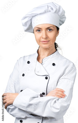 Poster  Portrait of a Female Chef